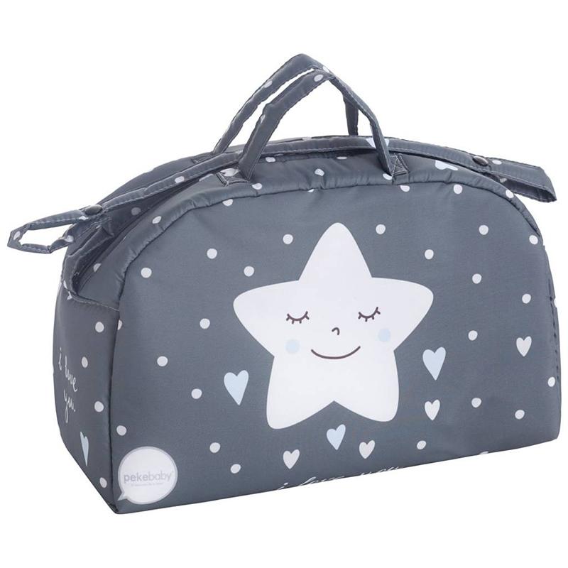 Τσάντα καροτσιού αστεράκι γαλάζιο Pekebaby