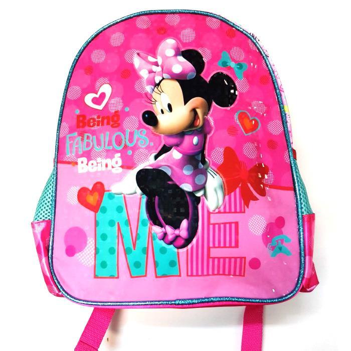 a33a0f1b3db Τσάντα πλάτης νηπίου με την αγαπημένη Minnie. Διαθέτει ανατομική πλάτη με  εργονομικούς ρυθμιζόμενους ιμάντες και