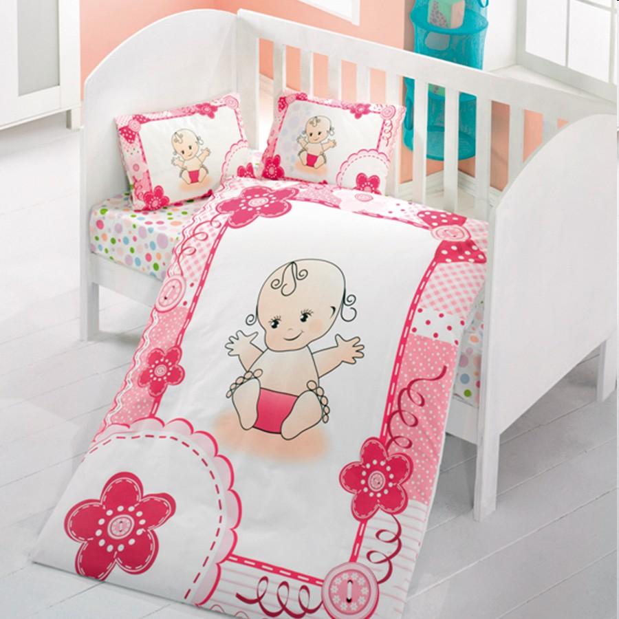 Βρεφικά σεντόνια Beauty Home μωράκι. Περιέχονται 2 σεντόνια 100*150