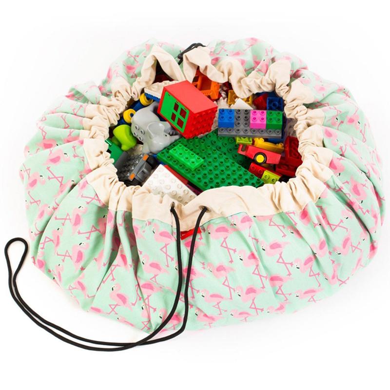 PLAY&GO Στρώμα παιχνιδιού - τσάντα Flamingo