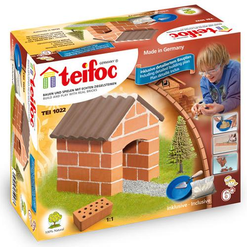 Teifoc - Χτίζοντας μίνι Καλύβα 40τεμ