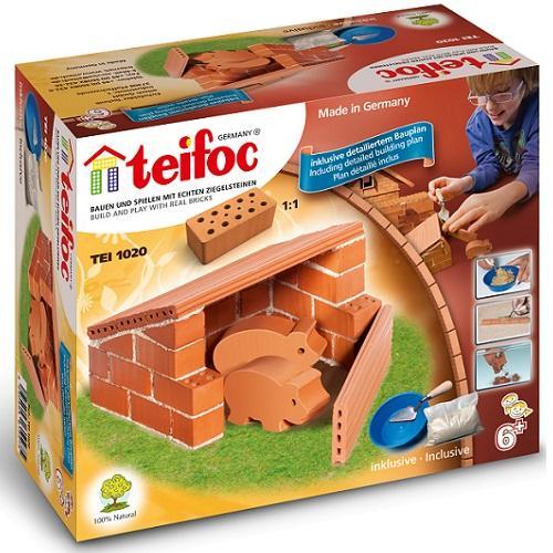 Teifoc - Χτίζοντας μίνι στάβλο για γουρουνάκια