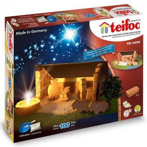 Teifoc - Χτίζοντας 'Χριστουγεννιάτικη Φάτνη'