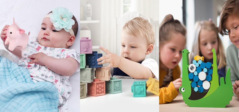 Ξύλινα, οικολογικά, πολύχρωμα παιχνίδια!
