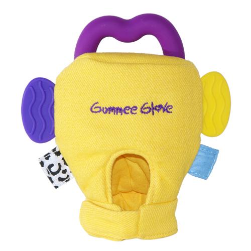 Γάντι οδοντοφυΐας Gumme glove κίτρινο