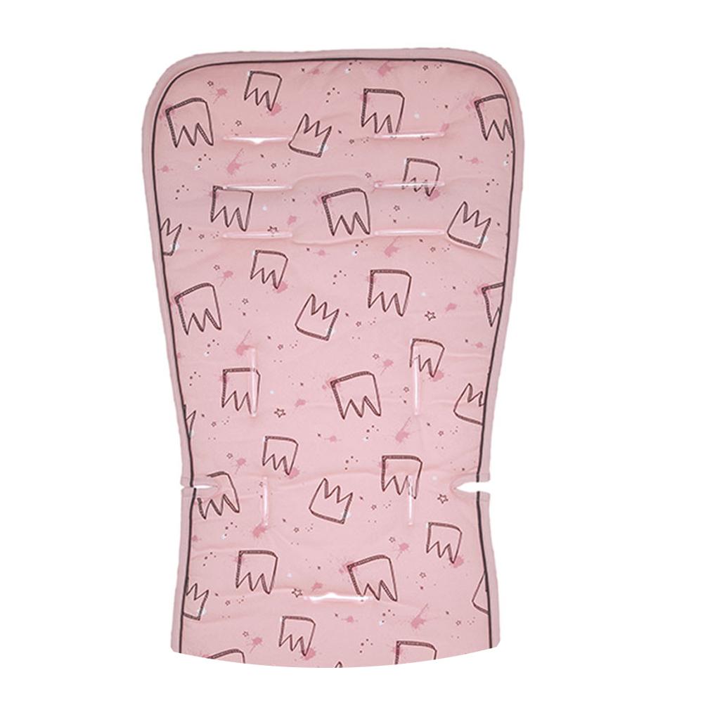 Κάλυμμα καροτσιού 2 όψεων Minene Pink Crowns