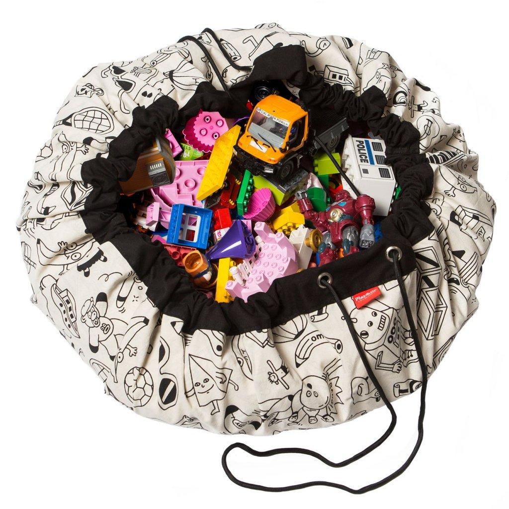 PLAY&GO Στρώμα παιχνιδιού - τσάντα OMY Color your bag