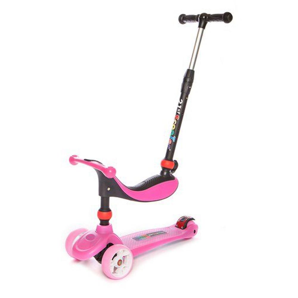 Παιδικο Scooter Baby Adventure 21st Pink