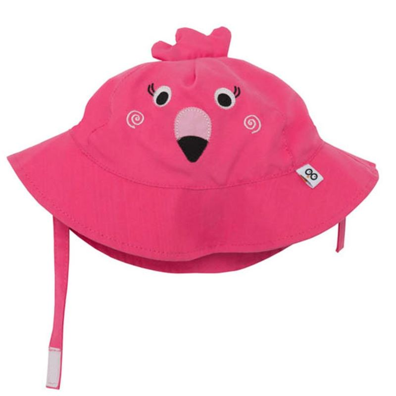 Zoocchini Αντηλιακό Καπέλο UPF50+ Φλαμίνγκο 6-12μηνών