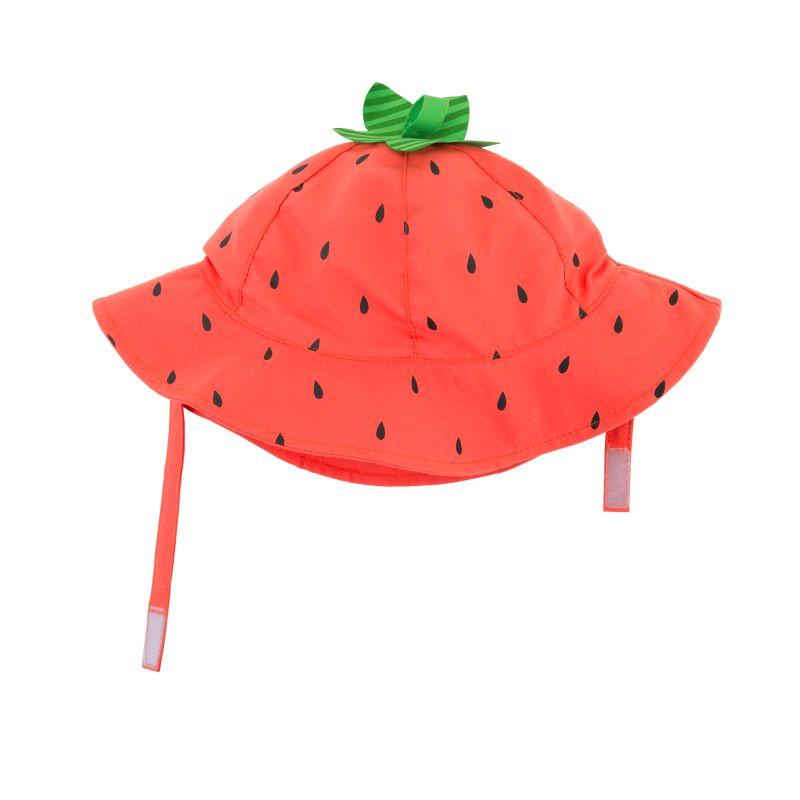 Zoocchini Αντηλιακό Καπέλο UPF50+ Φραουλίτσα 6-12μηνών