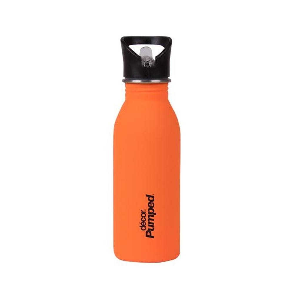 Μπουκάλι ανοξείδωτο DECOR 500ml πορτοκαλί ματ