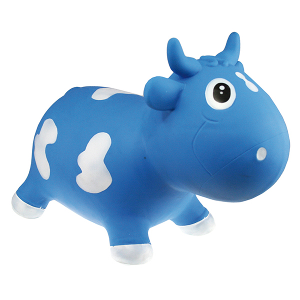 KidZZfarm Bella the cow Blue & White Χοπ Χοπ