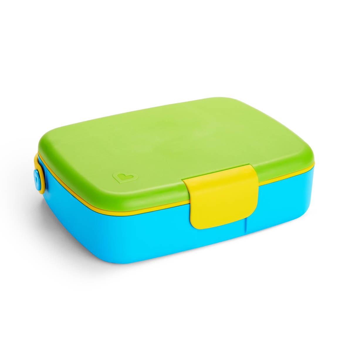 Lunch bento box green/blue Munchkin