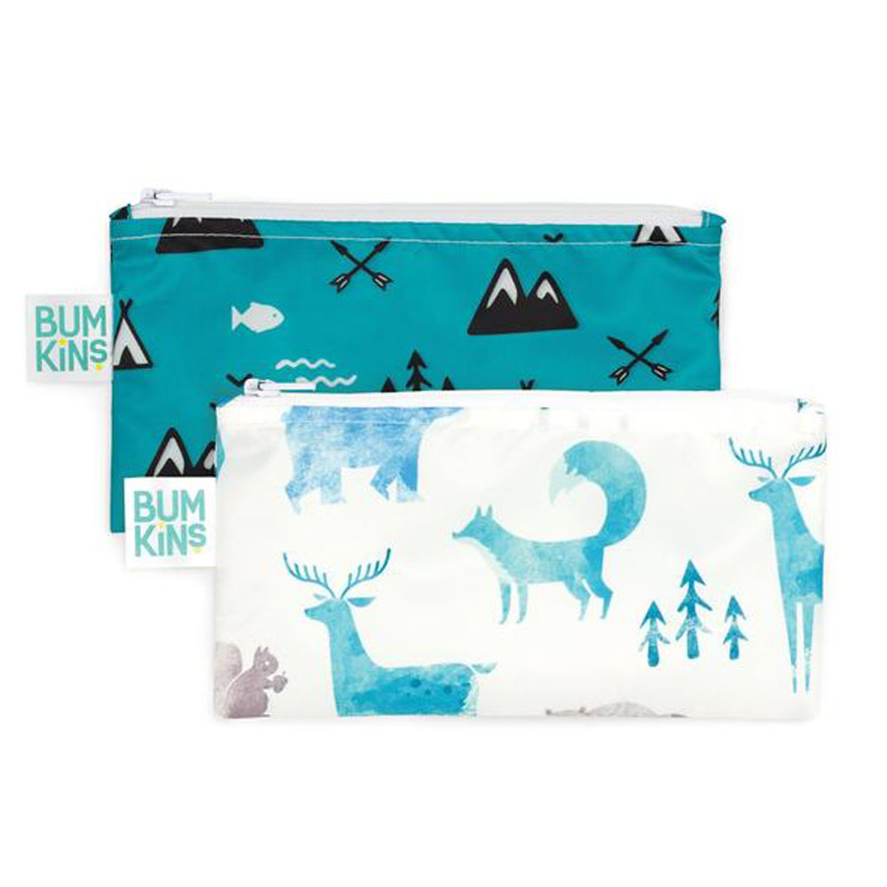 Bumkins Small Snack Bag 2pk <br> outdoors
