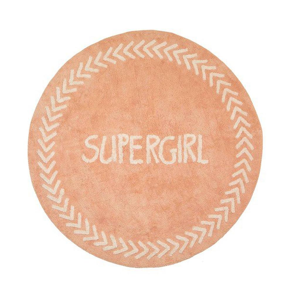 Χαλί Baby Adventure Pink Supergirl 150cm