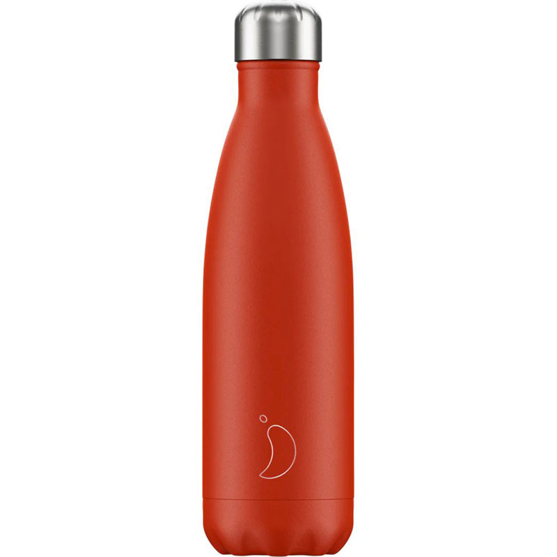 Chillys Θερμός neon red <br/>500ml