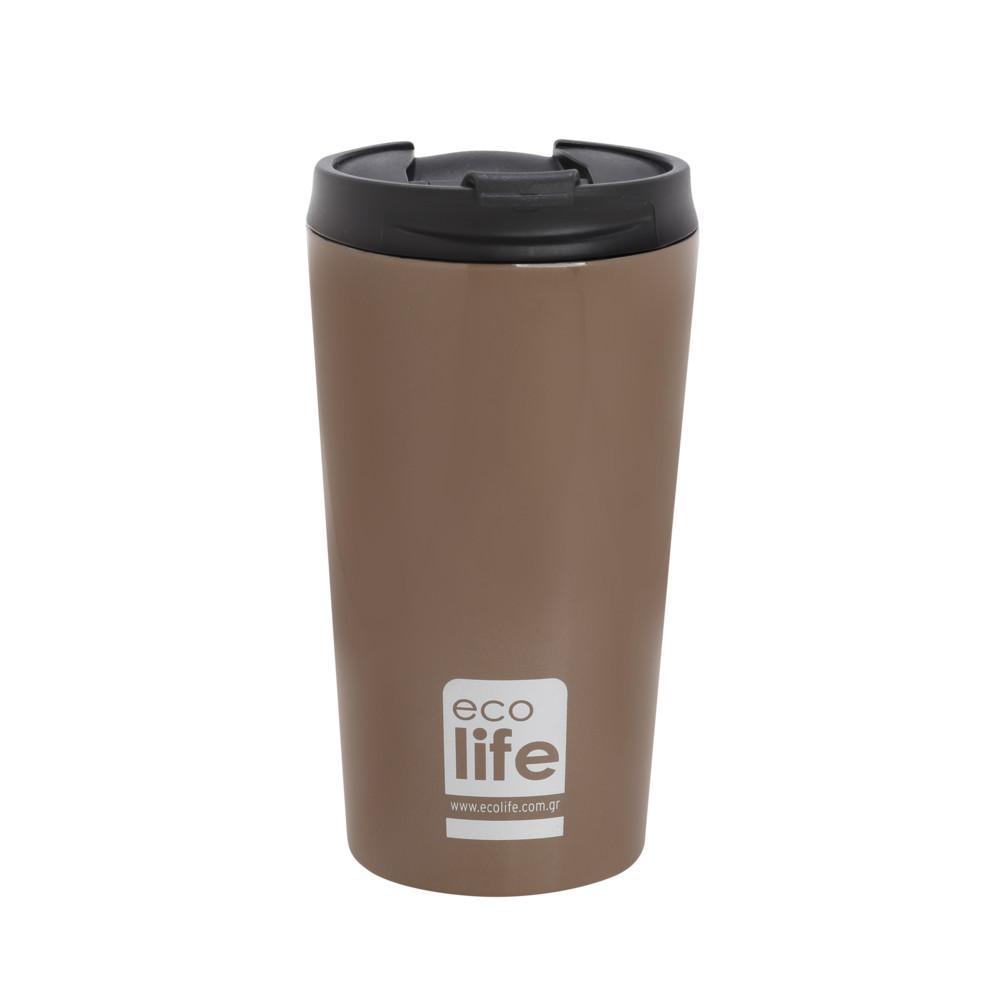 Ecolife Θερμός καφέ <br> bronze 370ml