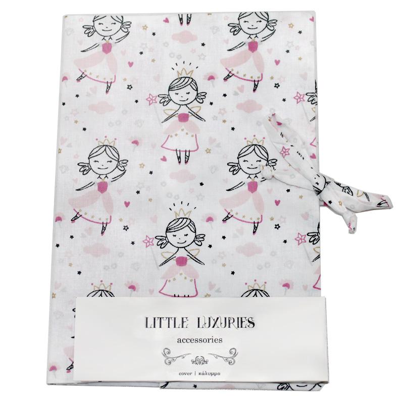 Little Luxuries υφασμάτινη θήκη βιβλιαρίου πριγκίπισσα