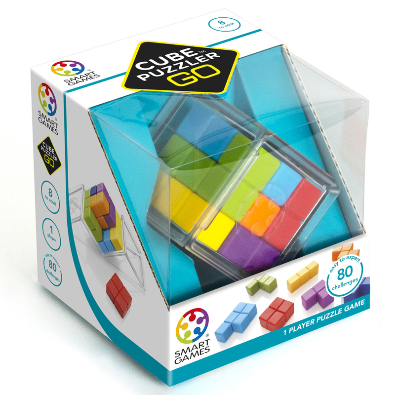 Smartgames επιτραπέζιο<br/> 'Cube Puzzler Go'