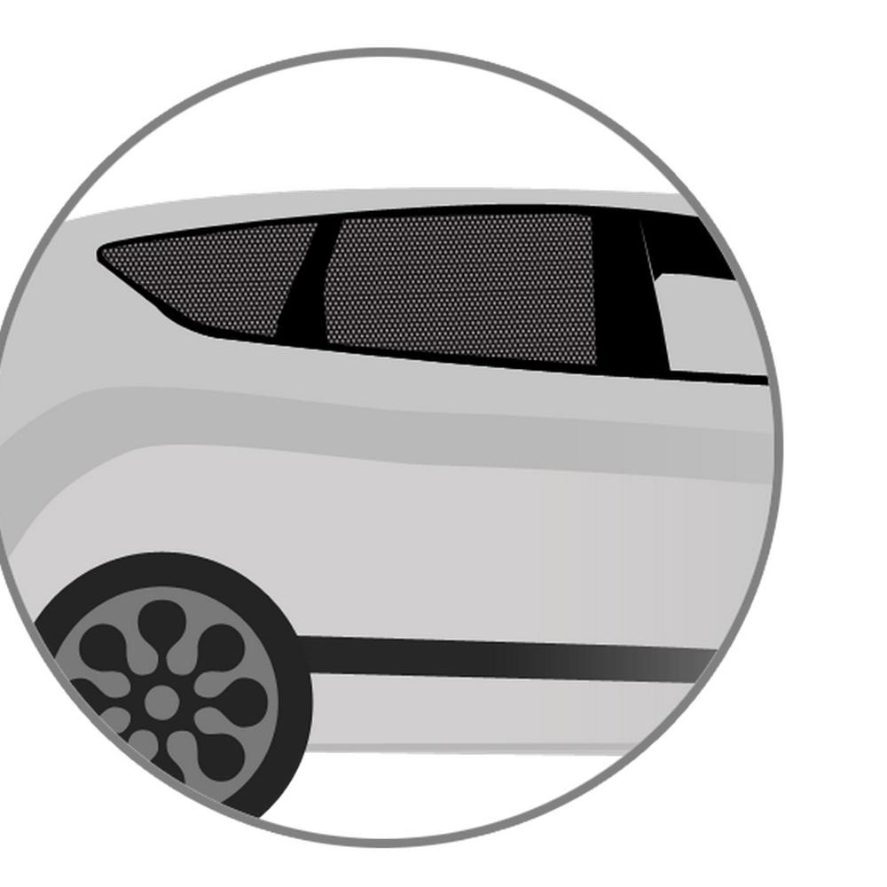 DaDaCar – Αυτοκόλλητη Ηλιοπροστασία Αυτοκινήτου 50*60εκ