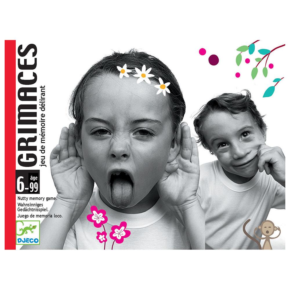 Djeco Επιτραπέζιο καρτών 'Γκριμάτσες'