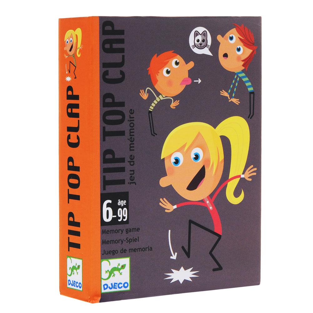 Djeco Επιτραπέζιο παιχνίδι μνήμης Tip Top Clap