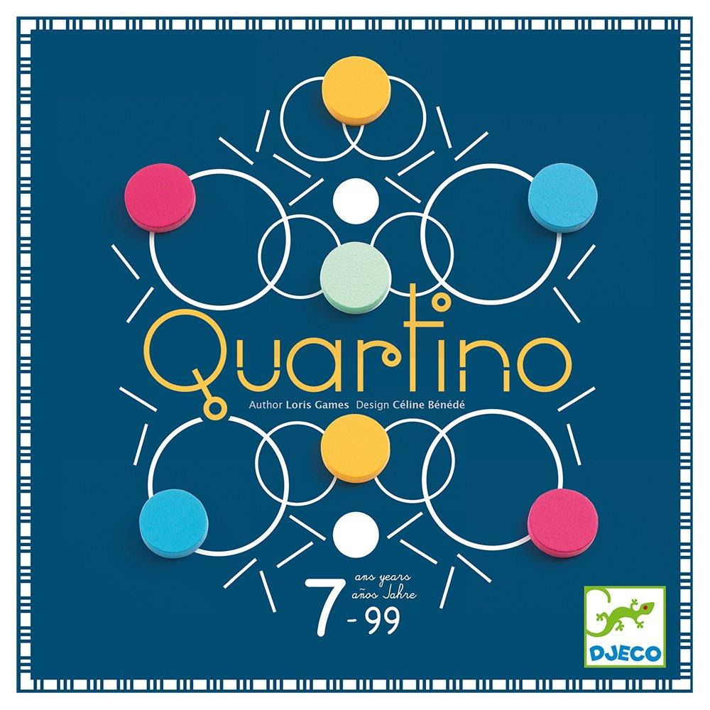 Djeco Επιτραπέζιο παιχνίδι 'Quartino'