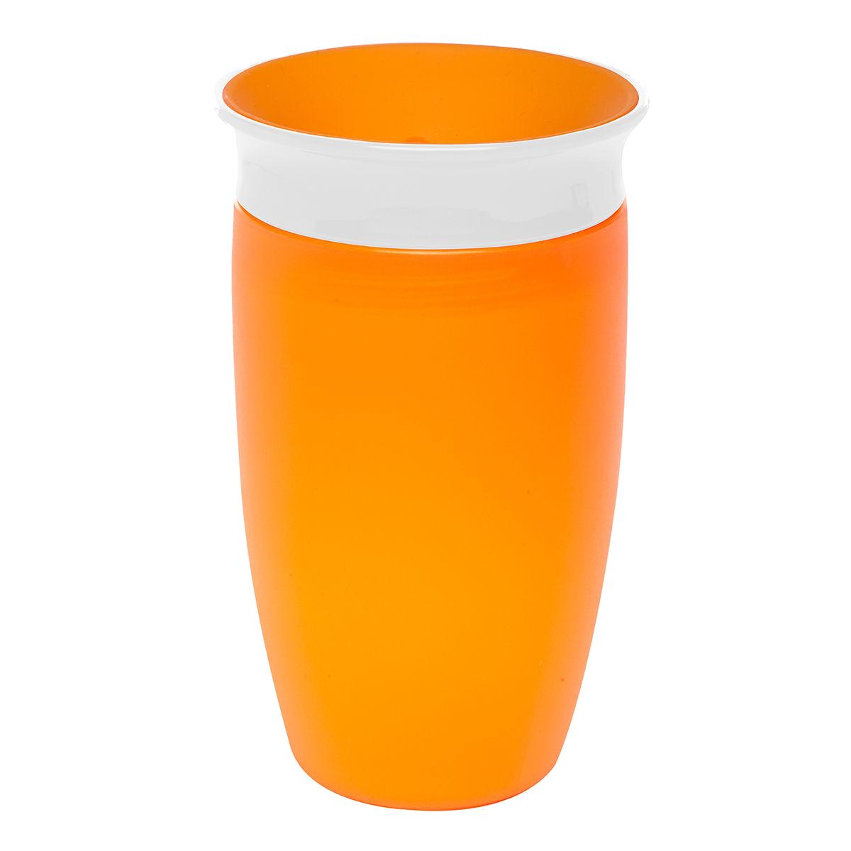 Εκπαιδευτικό πορτοκαλί ποτήρι 296ml Miracle 360° Munchkin
