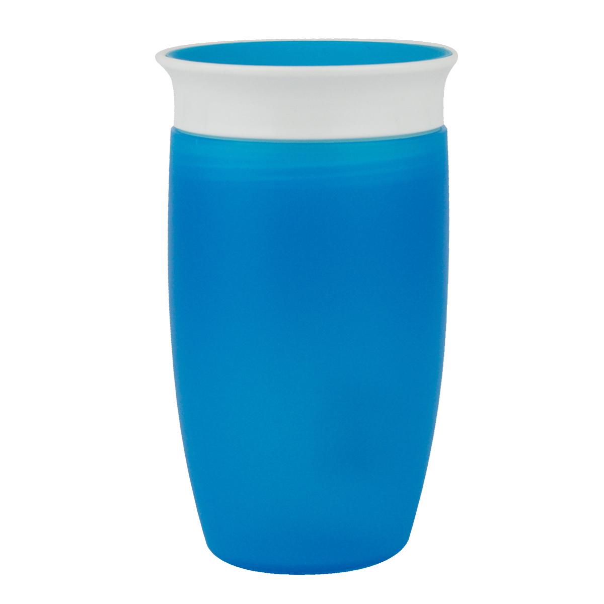 Εκπαιδευτικό μπλε ποτήρι 296ml Miracle 360° Munchkin