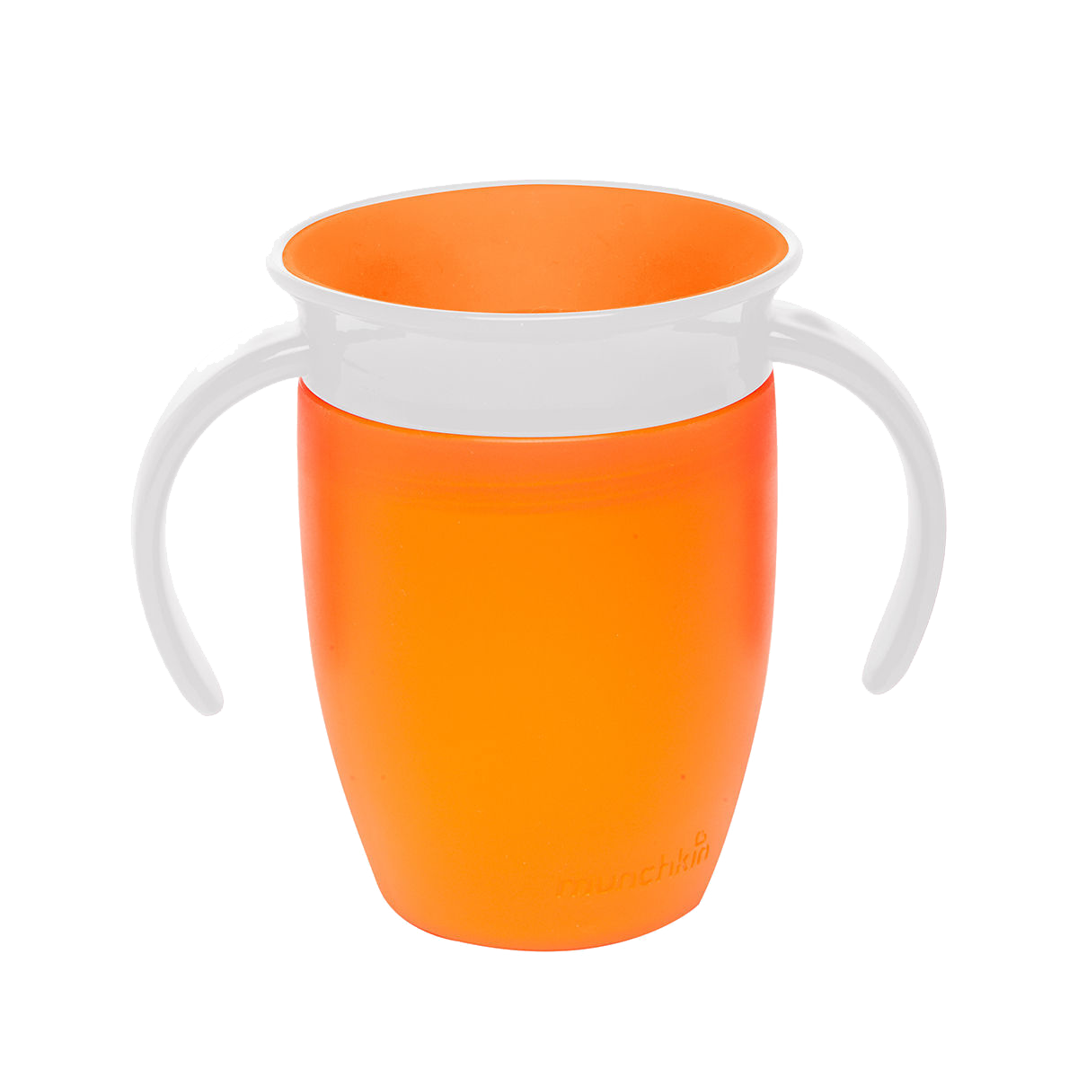 Εκπαιδευτικό πορτοκαλί ποτήρι  Miracle 360° Munchkin