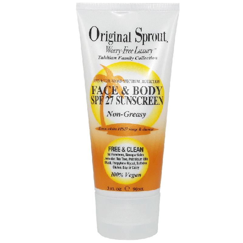 Face & Body Sunscreen <br> 90ml