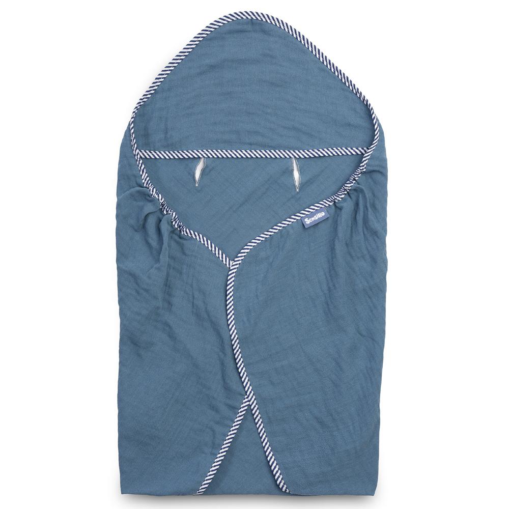 Κάλυμμα καθίσματος αυτοκινητου sensillo Muslin blue