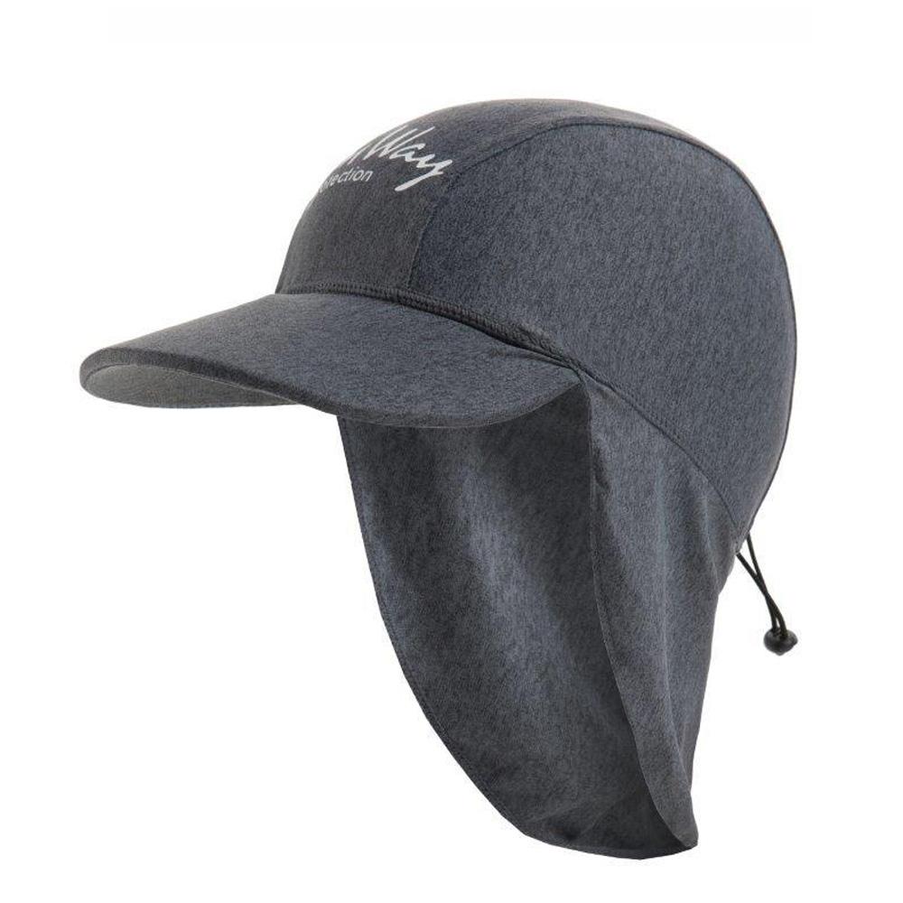 Αντηλιακό καπέλο <br>  junior UV γκρι  7 - 12 ετών