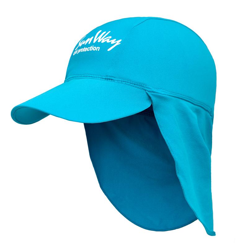 Αντηλιακό καπέλο baby UV Light blue