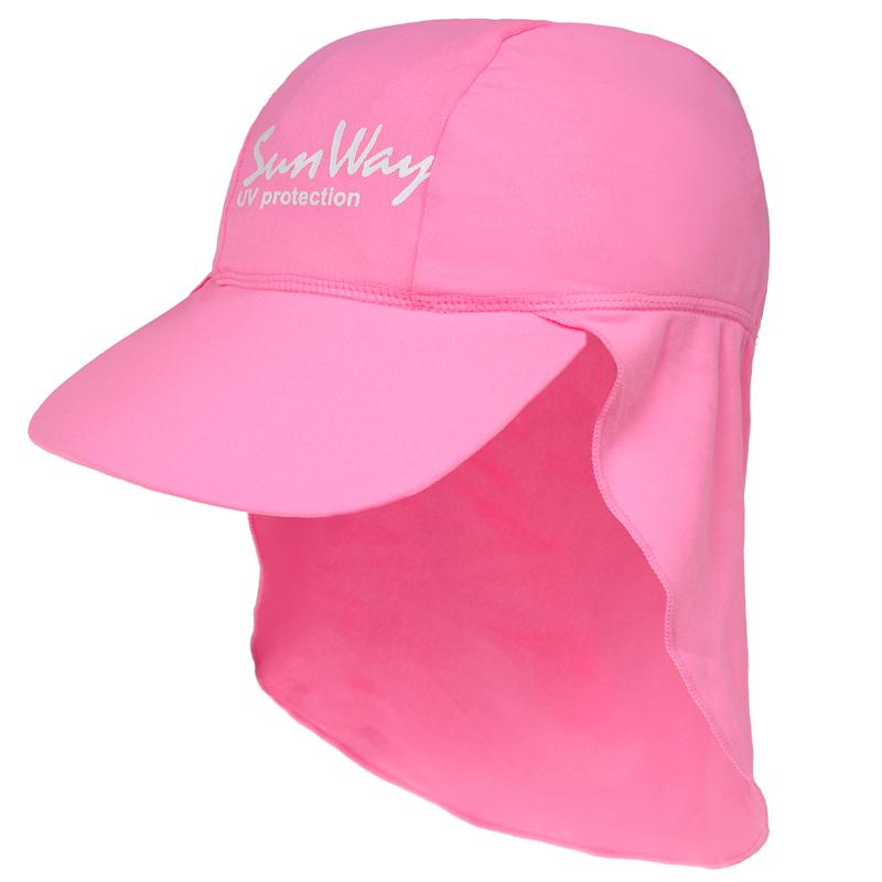 Αντηλιακό καπέλο baby UV light pink
