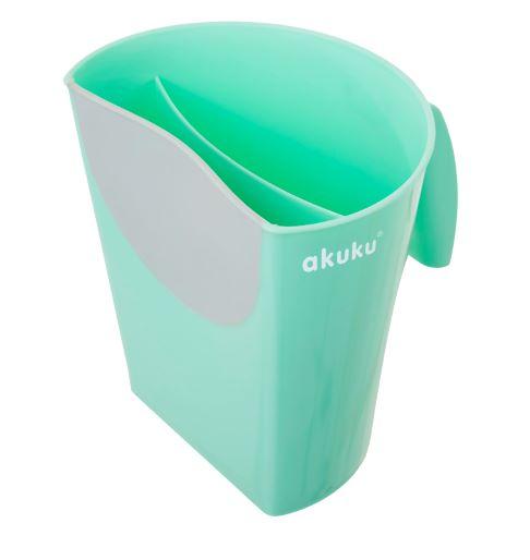 Κύπελλο για μπάνιο μέντα/γκρι akuku