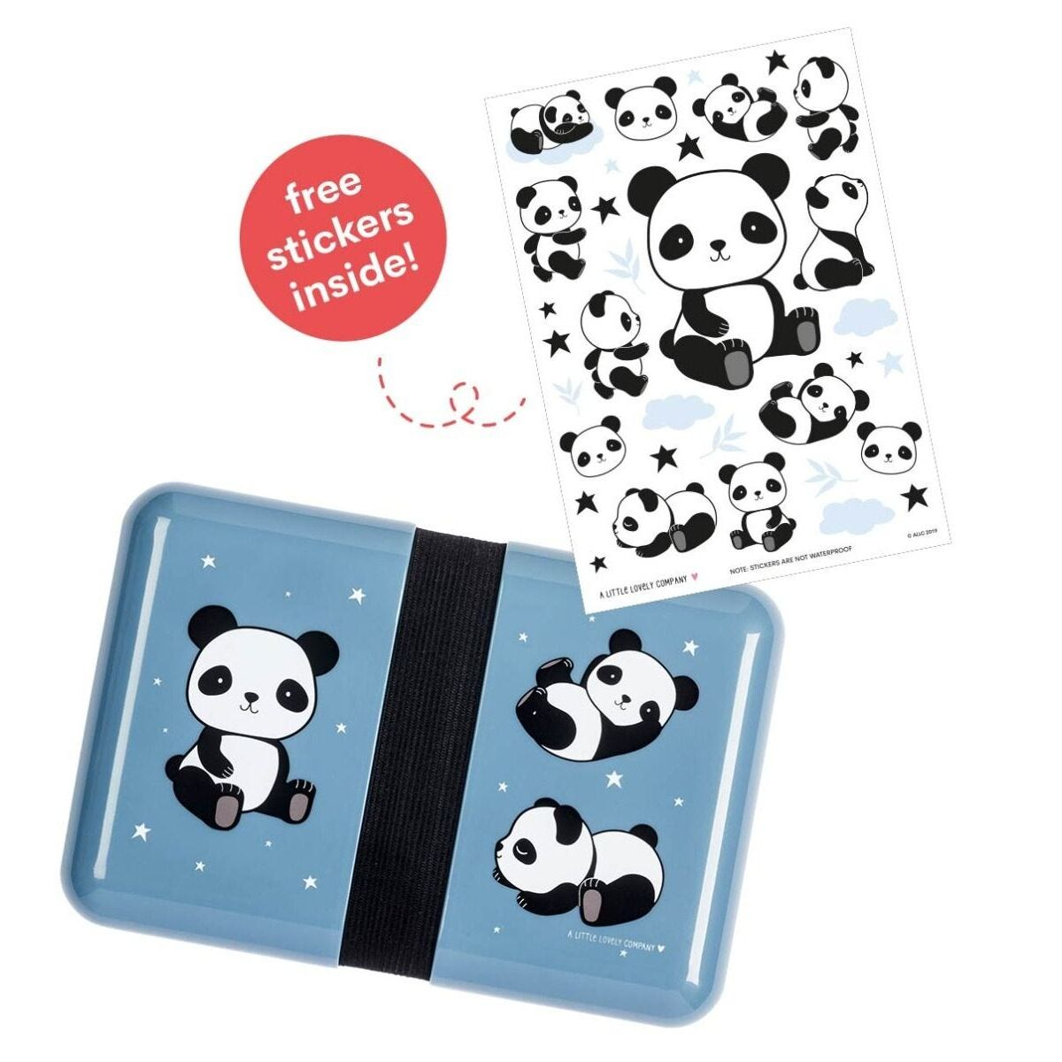 A little lovely company Δοχείο φαγητού Lunch box Panda 18*12*6