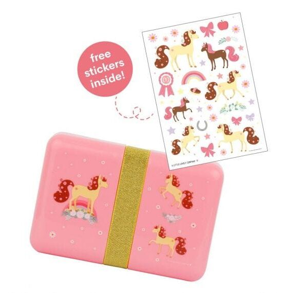 A little lovely company Δοχείο φαγητού Lunch box Horse