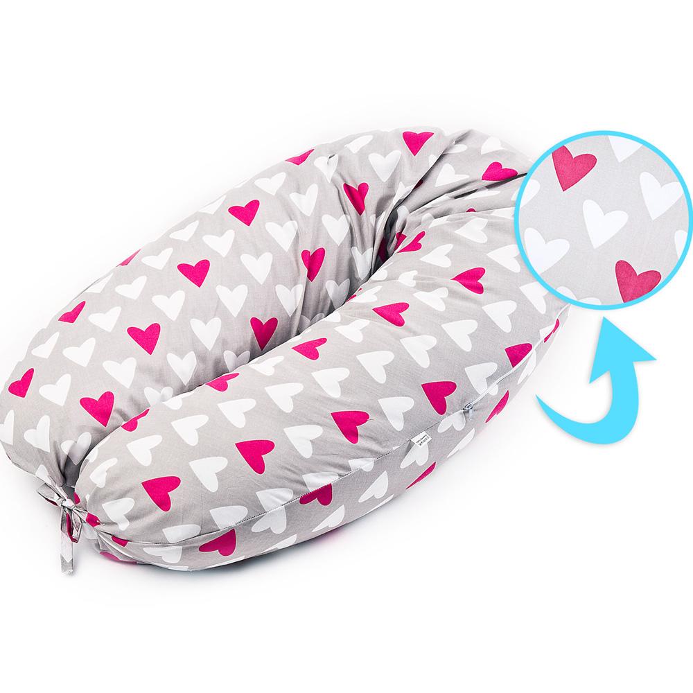 Μαξιλάρι εγκυμοσύνης/θηλασμού sensillo καρδιές