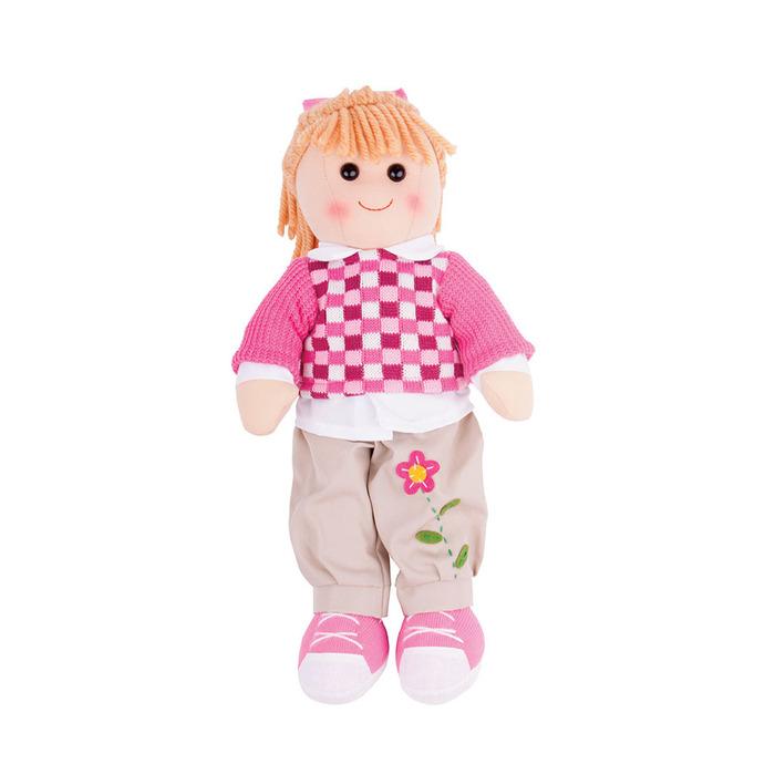Πάνινη κούκλα Melanie <br /> 38εκ