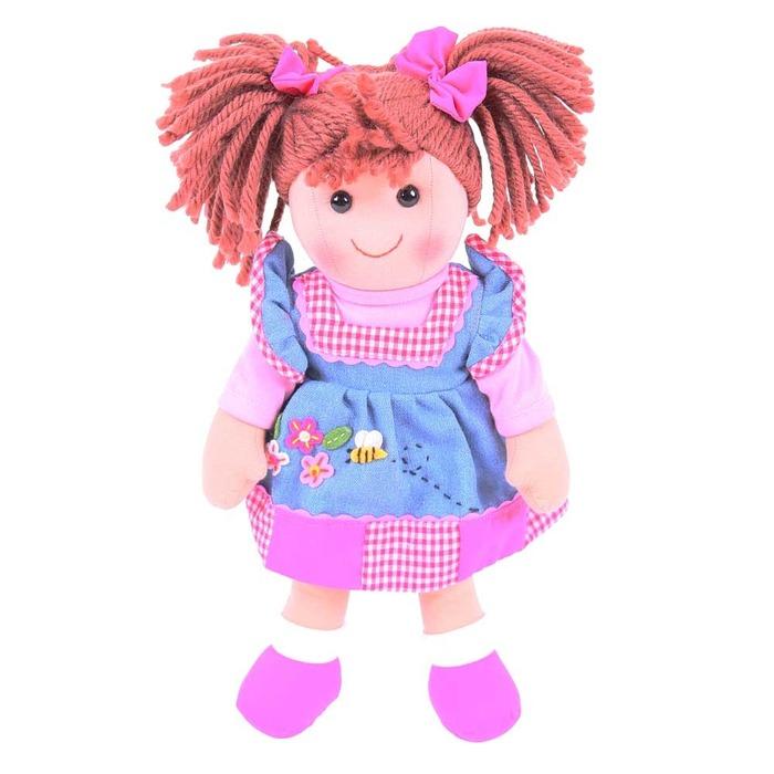 Πάνινη κουκλίτσα Melody 34εκ
