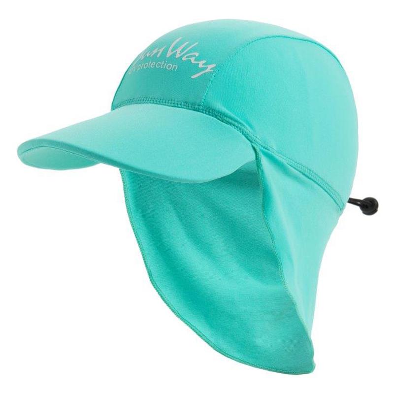 Αντηλιακό καπέλο kid UV blue menta