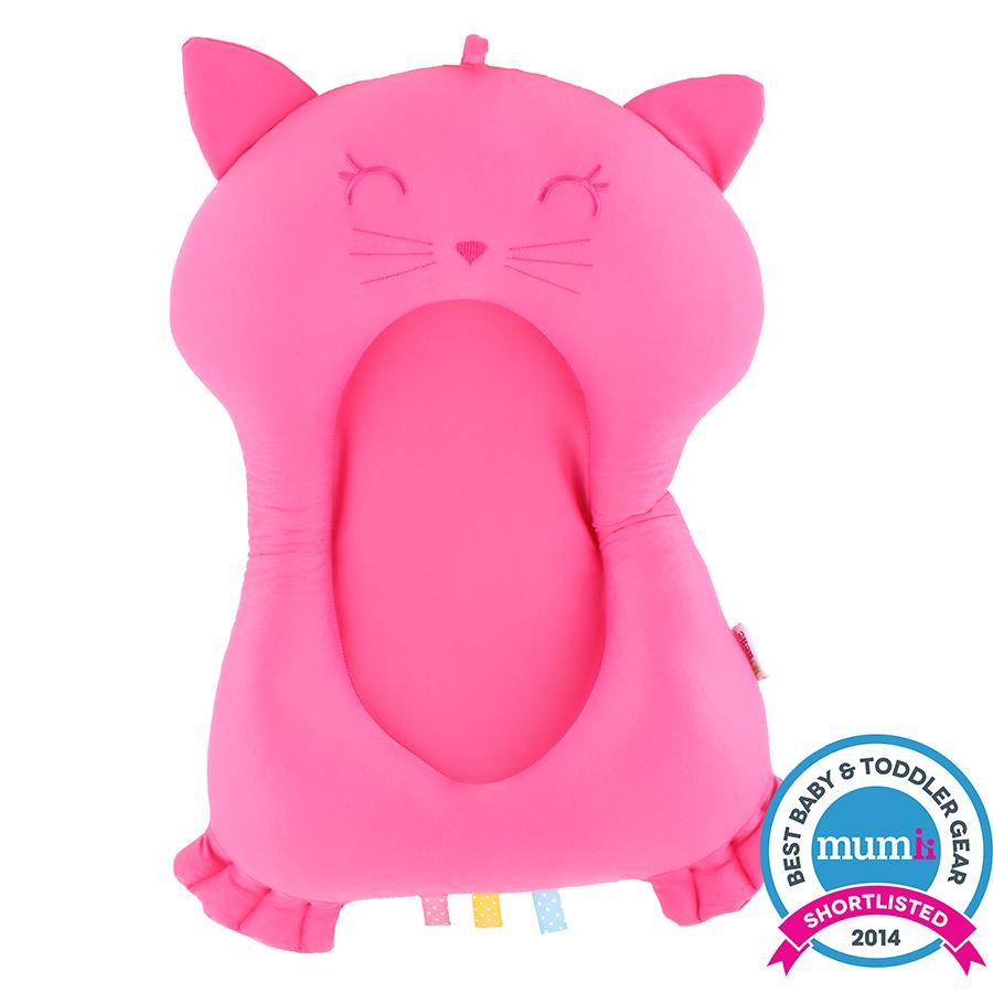 Minene Βάση που επιπλέει-Φούξια γάτα
