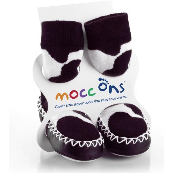 Καλτσοπαντοφλάκια Moccons Αγελαδίτσα 12-18 μηνών