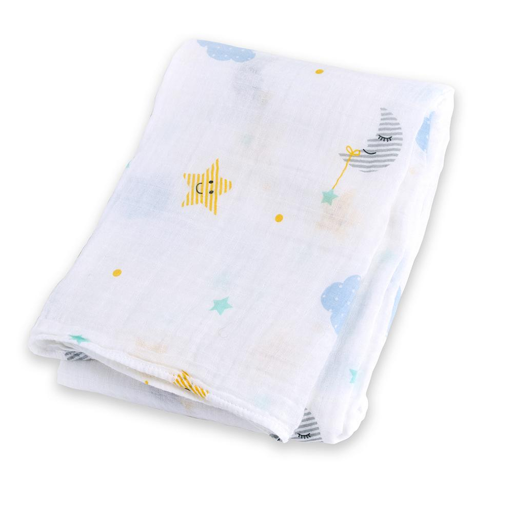 Lulujo Μουσελίνα 120*120 – Dreamland Swaddling Blanket
