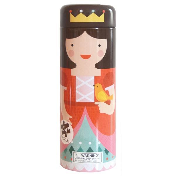Παζλ κουμπαράς <br /> πριγκίπισσα 64 κομμάτια