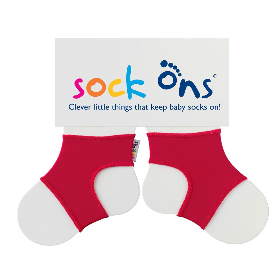 Καλτσάκια Sock Ons για μωρά κόκκινο (6-12μηνών)