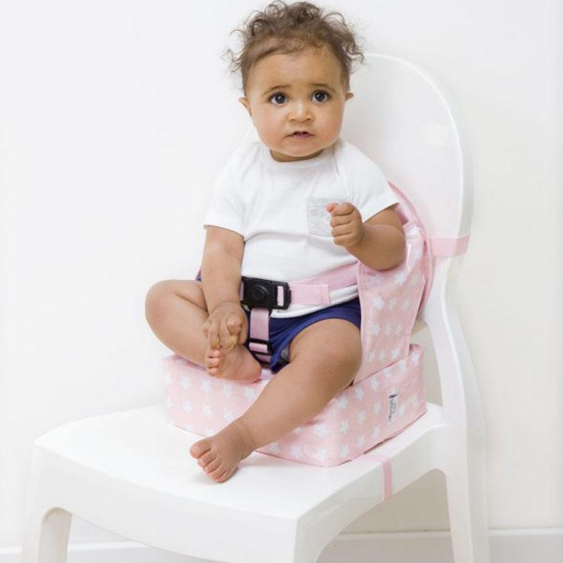 Φορητό καθισματάκι φαγητού Easy Up Booster Ροζ Αστέρια