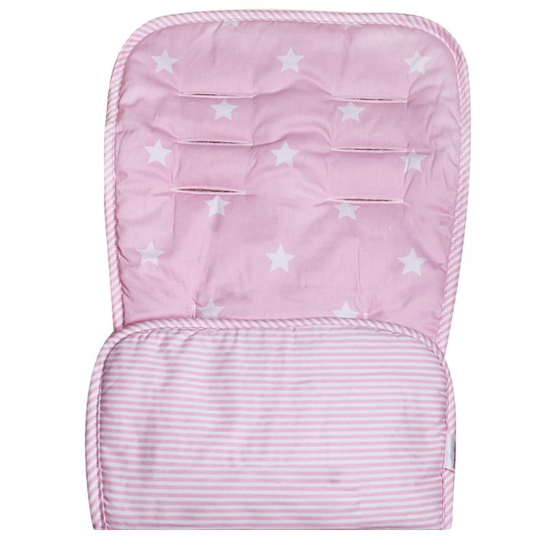 Κάλυμμα καροτσιού Minene ροζ αστέρια
