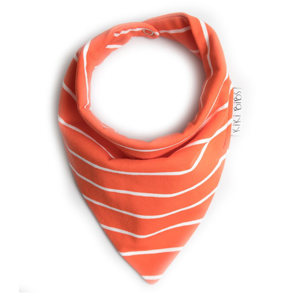 Kiki Bibs Σαλιάρα-μπαντάνα Orange